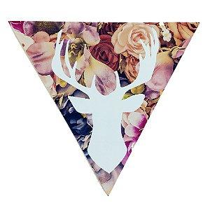 Quadrinho Triangular Cervo