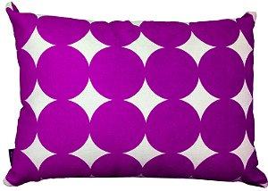 Almofada bolas 30x45 - Purple