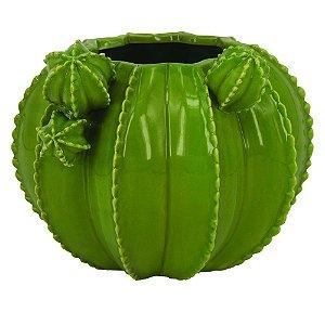 Vaso Cacto Verde Claro