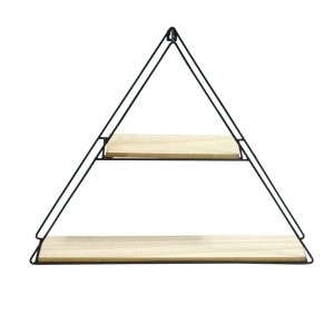 Prateleira Triangle Preta