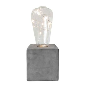 Luminaria Led Concrete Base Squared