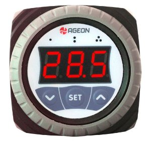 H101 WEB Controlador por Temperatura Ageon 1 sensor e 1 relé, monitorável na WEB