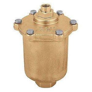 """Purgador de ar MAXCAL 501, 3/4""""Fx3/8""""F, -20÷120°C, para grandes circuitos prediais e alta vazão de ar"""