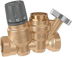 Regulador Termostático para Balanceamento de Anel de Recirculação de Água Quente 1162 CALEFFI, com função de desinfecção térmica