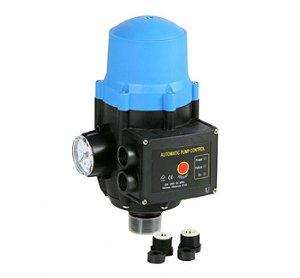 """PEB Pressostato Eletrônico para Bomba Hidráulica até 1,5cv,  PEB-15a30, 1"""", 220/240V, IP65, pressão de acionamento ajustável de 15 a 30 m.c.a."""