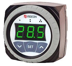 H108 WEB Controlador Solar Térmico por Diferencial de Temperatura Ageon, CDT com 2 relés, monitorável na WEB