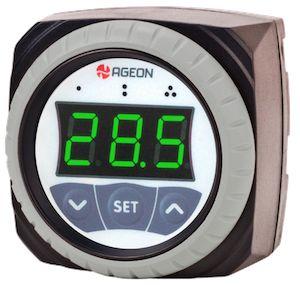 H108 Controlador Solar Térmico por Diferencial de Temperatura Ageon, CDT com 2 relés