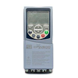 Inversor de Frequência Weg CFW500 Tri 1,5cv 2,5A 380V ou 440V C/P-IOS