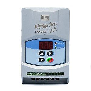 Inversor de Frequência Weg CFW10 Mono 1cv 4A 220V Clean