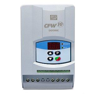 Inversor de Frequencia Weg CFW10 Tri 3cv 10A 220V Standard