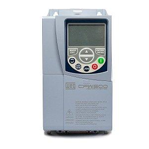 Inversor de Frequência Weg CFW500 Tri 2cv 4,3A 380V ou 440V C/P-IOS