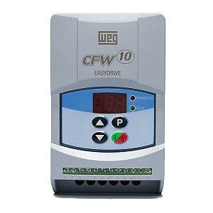 Inversor de Frequência Weg CFW10 Standard Mono 1cv 4A 220V