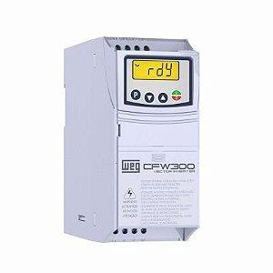 Inversor de Frequência Weg CFW300 Tri 1,5cv 6A 220V