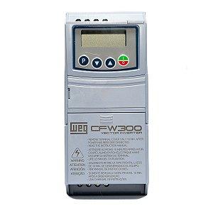 Inversor de Frequência Weg CFW300 Tri 1cv 4,2A 220V