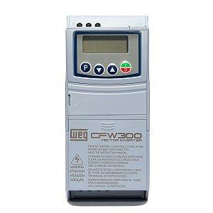 Inversor de Frequência Weg CFW300 Mono 2cv 7,3A 220V