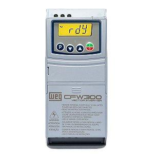 Inversor de Frequencia Weg CFW300 Monofasico 2CV 220V