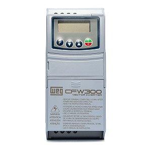 Inversor de Frequência Weg CFW300 Tri 2cv 7,3A 220V