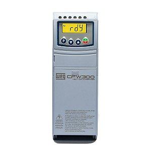 Inversor de Frequencia Weg CFW300 Mono e Tri 3CV 220V 10A