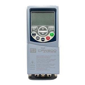 Inversor de Frequência Weg CFW500 Mono/Tri 1cv 4,3A 220V C/P-IOS