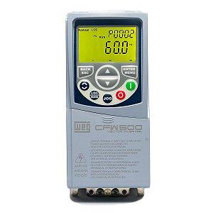 Inversor de Frequência Weg CFW500 Mono/Tri 1cv 4,3A 220V
