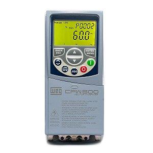 Inversor De Frequência Weg Cfw500 Tri 2cv 220V 7A C/ P-IOS