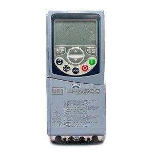 Inversor de Frequência Weg CFW500 Tri 3cv 6,1A 380V ou 440V C/P-IOS