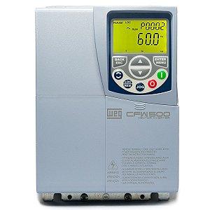 Inversor de Frequencia Weg CFW500 Tri 24A 7,5cv 220V C/P-IOS