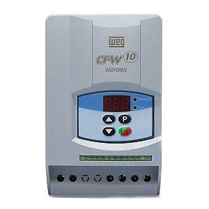 Inversor de Frequencia Weg CFW10 Mono 2cv 7,3A 220V Standard