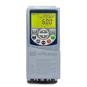 Inversor de Frequência Weg CFW500 Tri 3cv 9,6A 220V C/P-IOS