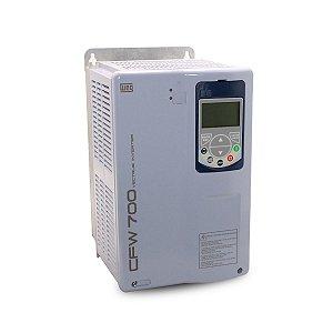Inversor de Frequencia Weg CFW700 Trifasico 12,5CV 220V