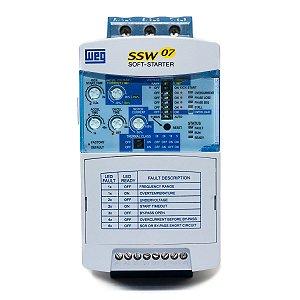 Chave de Partida Soft Starter Weg SSW07 30A 220-575V