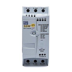 Chave de Partida Soft Starter Weg SSW05 30A 220-440V