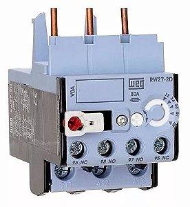 Relé de Sobrecarga Tripolar Weg RW27-2D3-U004 ajuste 2,8-4A