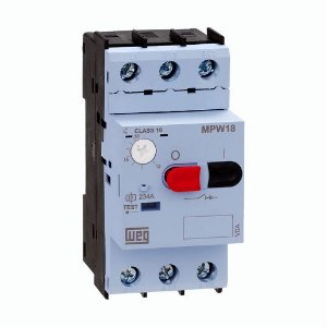 Disjuntor Motor Weg MPW18-3-D025 Ajuste 1,6-2,5A