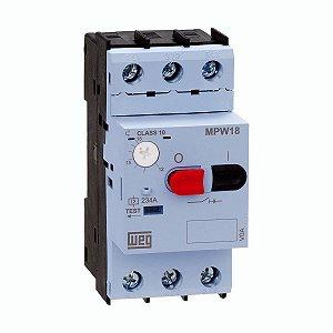 Disjuntor Motor MPW18-3-U016 Ajuste 10-16A Weg