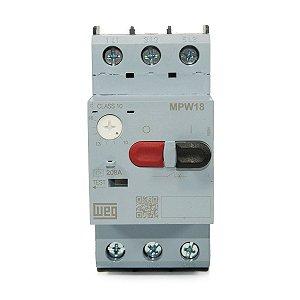 Disjuntor Motor Weg MPW18-3-U016 Ajuste 10-16A