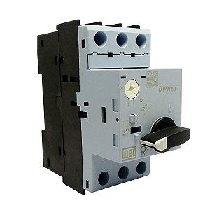 Disjuntor Motor Weg MPW40 Ajuste 16-20A