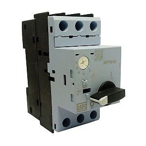 Disjuntor Motor Weg MPW40 Ajuste 32-40A