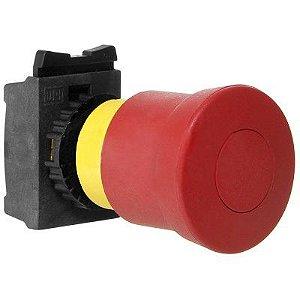 Botão Emergência Weg CSW-BESP-01000000-3VF Trava Puxa Solta 22mm