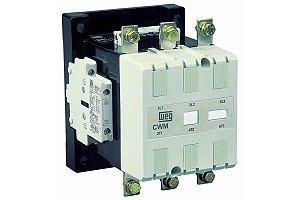 Contator Tripolar CWM150-22-30E13 150A 220VAC/VDC 2NA+2NF Weg