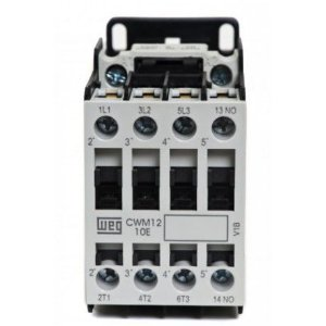 Contator Tripolar CWM12-22-30V26 12A 220VAC 2NA+2NF Weg