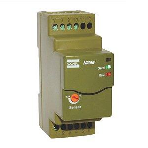 Controle de Nível Eletrônico Poço Coel NI35E 24-240Vcc/Vca