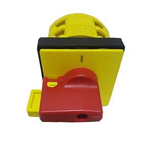 Chave Seccionadora Rotativa Weg Msw16A NR12 3 Polos Safety