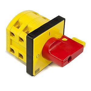 Chave Seccionadora Rotativa Weg Msw20 20a NR12 Fixação Topo