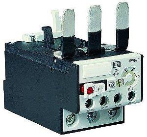 Relé de Sobrecarga Tripolar RW67-1D3-U050 ajuste 32-50A Weg