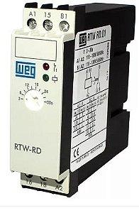 Rele Temporizador Weg RTW Retardo Energização 30-300s 24Vac
