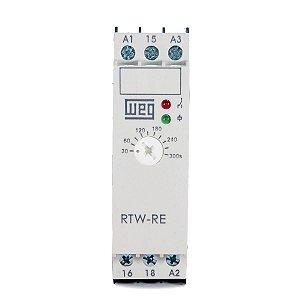 Rele Tempo Weg RTW Retardo na Energização 30 -300s 220V/24Vdc