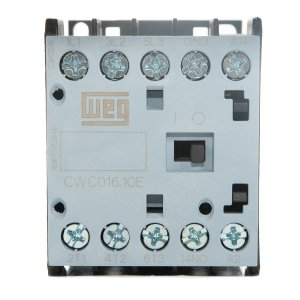 Mini Contator Weg Tripolar CWC016 16A 1NA 220Vca
