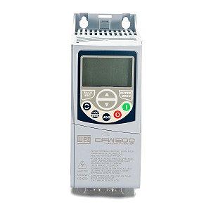 Inversor de Frequência Weg CFW500 Tri 0,75cv 1,6A 440V S/P