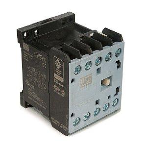 Mini Contator tripolar AZ CWCA0-31-00 10A 3NA+1NF 24VCC Weg